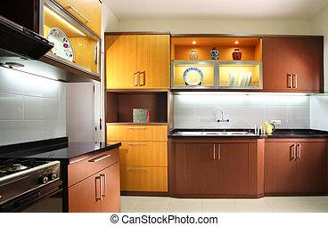 modernos, cozinha