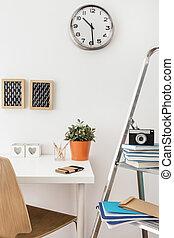 modernos, elegante, escritório