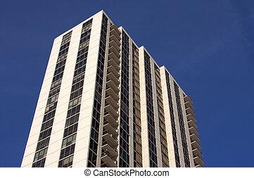 modernos, high-rise, condomínios