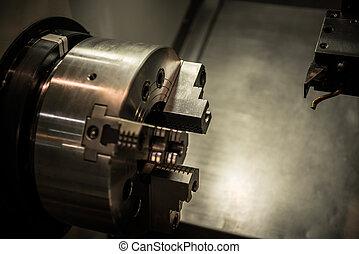 modernos, industrial, máquina