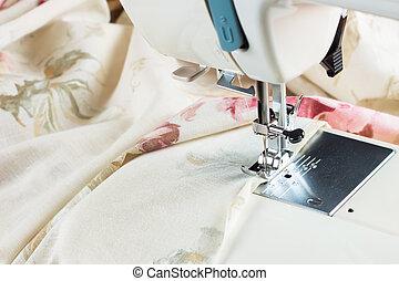 modernos, máquina de costura