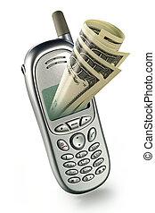 modernos, móvel, banco
