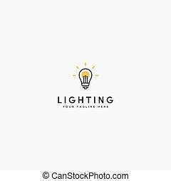 modernos, mais claro, logotipo, desenho, parafuso