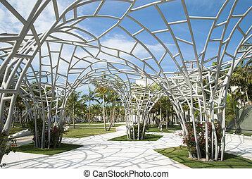 modernos, parque