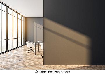 modernos, quarto encontrando, copyspace