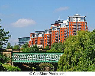 modernos, riverside, apartamentos