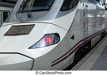 modernos, trem alta velocidade