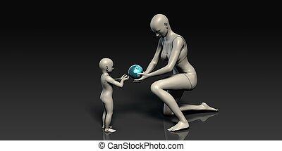moderskab