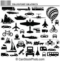 modes, de, transport