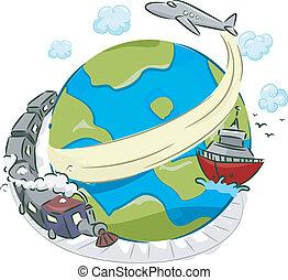 modi, von, transport