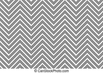 modieus, patterned, chevron, achtergrond, g&w