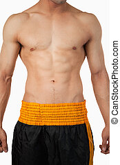 modifié tonalité, abs, sportif