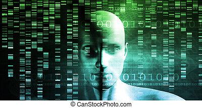 modificación, genético