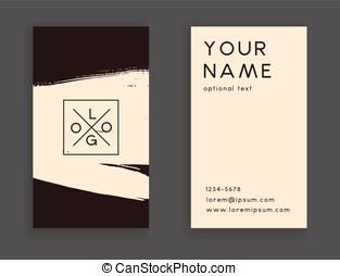 modny, handlowa karta