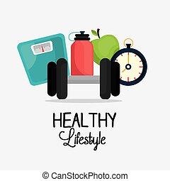 modo vivere sano, disegno
