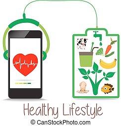 modo vivere sano, energia, vita