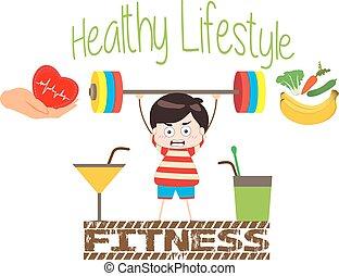 modo vivere sano, fitnes
