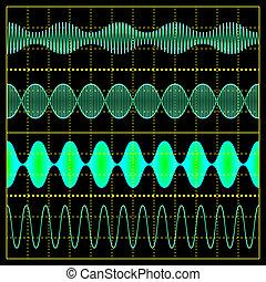 modulação, amplitude