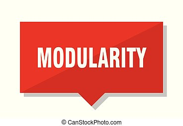 modularity red tag