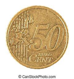 moeda, centavo,  Euro
