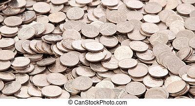 moeda, fundo