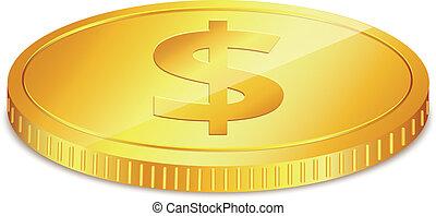 moeda, um