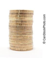 moedas, coluna