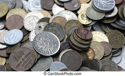 moedas, Dinheiro