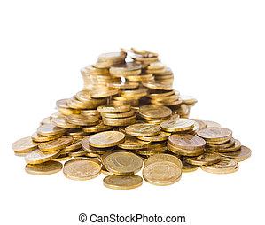 moedas., montão