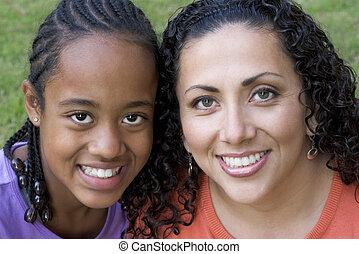 moeder, dochter