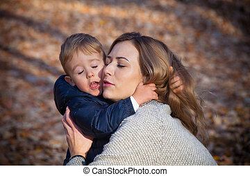 moeder, zoon, liefde