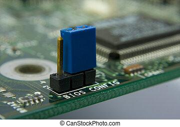 moederbord, bios, computer, circuit., config,...