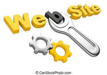 """moersleutel, site"""", """"web, inscriptie"""