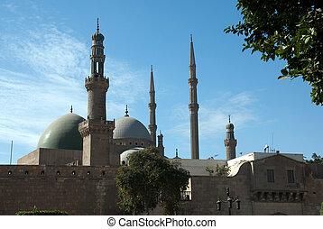 Mohamed Ali Mosque the Saladin Citadel of Cairo Egypt