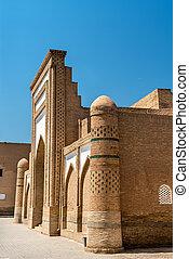 Mohammed Amin Inak Madrasah at Itchan Kala, Khiva,...