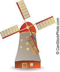 moinho de vento, ícone