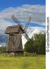 moinho de vento, antiquado
