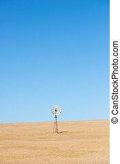 moinho de vento, outback, austrália