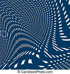 Moire pattern, op art background.