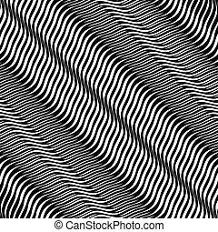 moire, traverse-couvé, fond, entrelacer, texture, ondulé, ...