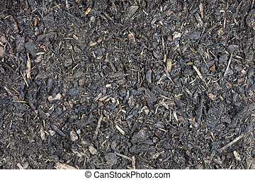 garden potting compost - moist garden potting compost...