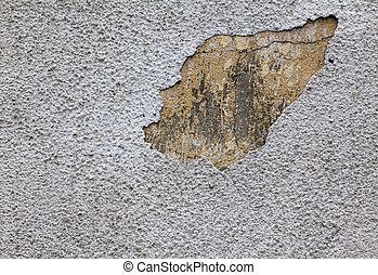 moisture on the wall
