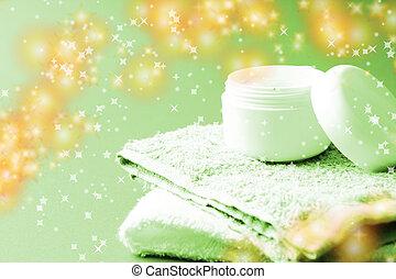 moisturizing, grädde