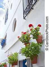 Mojacar Almeria white Mediterranean village Spain - Mojacar...