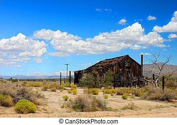 Mojave Desert Abandoned Shack