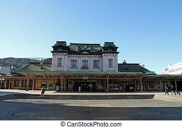 mojiko, estación