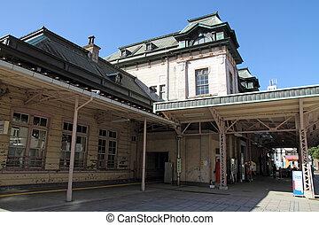 mojiko, station