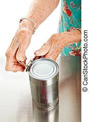mojinete, con, artritis