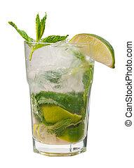 mojito, closeup, cocktail