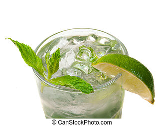 mojito, closeup, cocktail